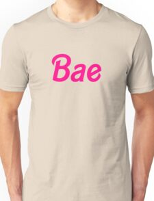 Bae barbie font Unisex T-Shirt