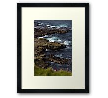 Cliffs at Dunnet Head Framed Print