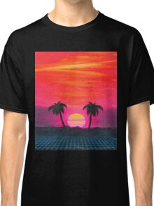 Retro sunset 2 Classic T-Shirt
