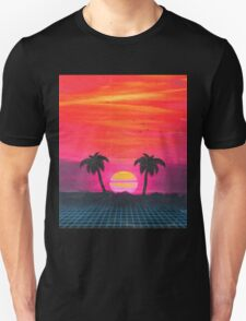 Retro sunset 2 Unisex T-Shirt