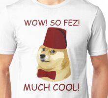 Funny Doge Meme - Parody - So Fez T Shirt Unisex T-Shirt