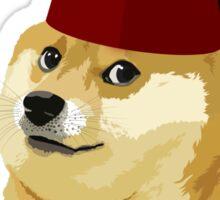 Funny Doge Meme - Parody - So Fez T Shirt Sticker