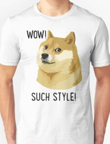 WOW! SUCH STYLE! Doge Meme T Shirts and More T-Shirt