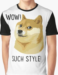 WOW! SUCH STYLE! Doge Meme T Shirts and More Graphic T-Shirt