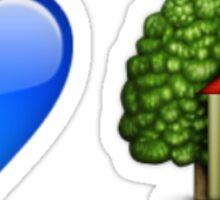 Troye Sivan Blue Neighborhood Emojis Sticker