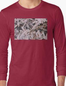 Frosty Needles of Ice Long Sleeve T-Shirt