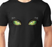 Cat Green Eyes Unisex T-Shirt