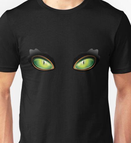 Cat Green Eyes Unisex T-Shirt