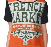 Signs: The French Market Chiffon Top