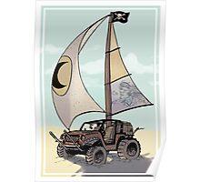 Jeep Sloop Poster