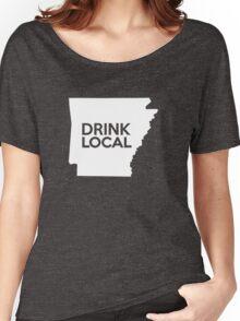 Arkansas Drink Local AR Women's Relaxed Fit T-Shirt