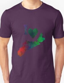 I Love Nova Scotia Unisex T-Shirt
