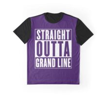 Straight Outta Grand Line Quotes Graphic T-Shirt