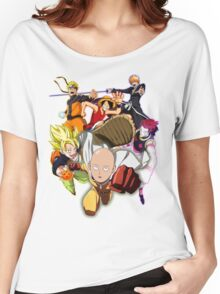 Composition anime Women's Relaxed Fit T-Shirt