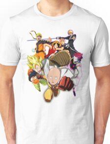 Composition anime Unisex T-Shirt