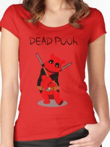 Funny Deadpooh Women's Fitted Scoop T-Shirt