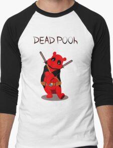 Funny Deadpooh Men's Baseball ¾ T-Shirt