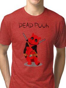 Funny Deadpooh Tri-blend T-Shirt