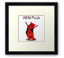 Funny Deadpooh Framed Print