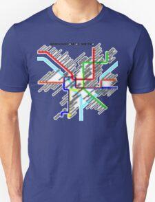 Washington DC Metro Map T-Shirt