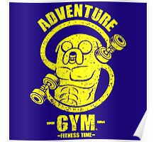Jake Adventure Time Gym Poster