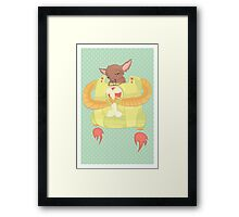 Chihuahua Robopuppy Framed Print