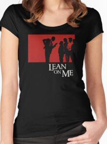 Lean on Me (1989) Women's Fitted Scoop T-Shirt
