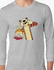 Calvin And Hobbes Fun Art Long Sleeve T-Shirt