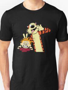 Calvin And Hobbes Fun Art T-Shirt