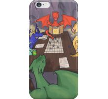 Dragons and Dungeons iPhone Case/Skin