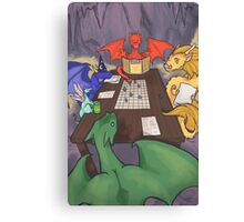 Dragons and Dungeons Canvas Print