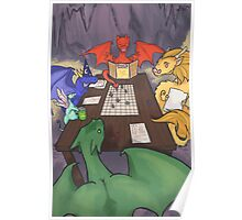Dragons and Dungeons Poster