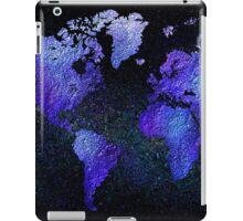 Mappodevorio V3 - abstract world map iPad Case/Skin
