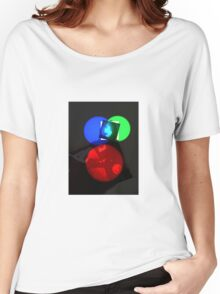 Crooked Disco  Women's Relaxed Fit T-Shirt