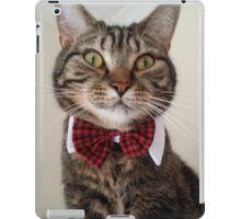 Cat in bow tie  iPad Case/Skin