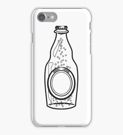 Beer Beer Bottle thirst booze iPhone Case/Skin