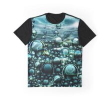 Ocean Fantasy Orbs Under The Sea Graphic T-Shirt