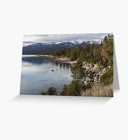 Tahoe Shoreline  Greeting Card
