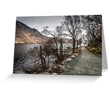 A Walk in Glenveagh National Park Greeting Card