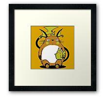 totoro,pokemon Framed Print