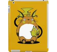 totoro,pokemon iPad Case/Skin
