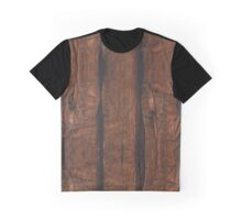 Rustic brown old wood Graphic T-Shirt