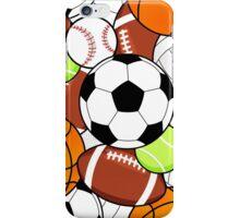 Sports Fan Pattern iPhone Case/Skin