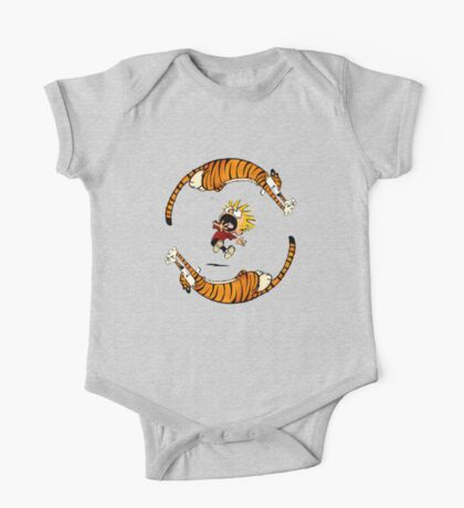 Calvin And Hobbes Fun One Piece - Short Sleeve