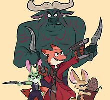 the guardians of zootopia by professah