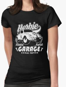 Herbie Garage Womens Fitted T-Shirt