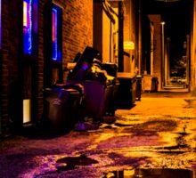 Neon Alley Sticker
