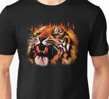 Fire Power Tiger Unisex T-Shirt
