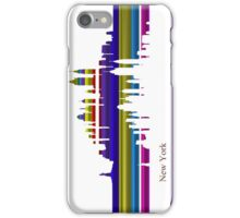 New York lines 2 iPhone Case/Skin