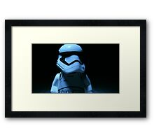 Lego First Order StormTrooper Framed Print